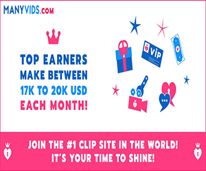 Register With ManyVids For Free To Start Making Money